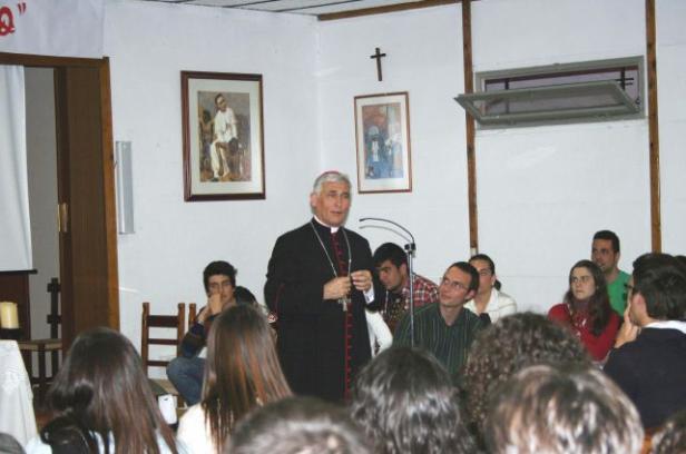 Visita del Obispo al Buen Pastor (San Fernando)