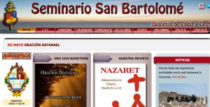 Web del Seminario de Cádiz y Ceuta