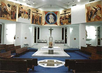Interior Iglesia S. José Artesano (San Fernando)