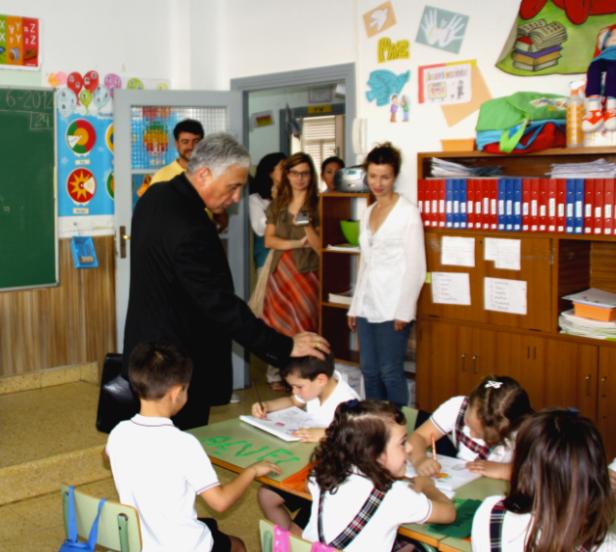 """Visita al Colegio de las Carmelitas """"Vedruna"""" en Cádiz"""