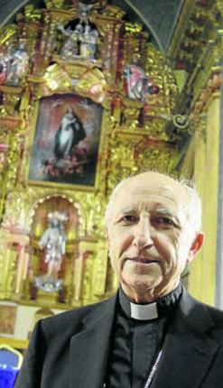Jesús García Burillo, ayer en el Oratorio de San Felipe Neri