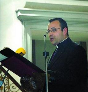 El padre David Gutiérrez, nuevo Delegado Episcopal de Patrimonio