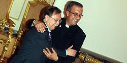 Vivas y Correro, en la Asamblea. Foto: CAD