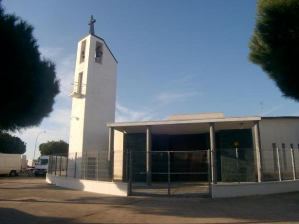 Parroquia San Pedro Apóstol en el Río San Pedro de Puerto Real (Cádiz)