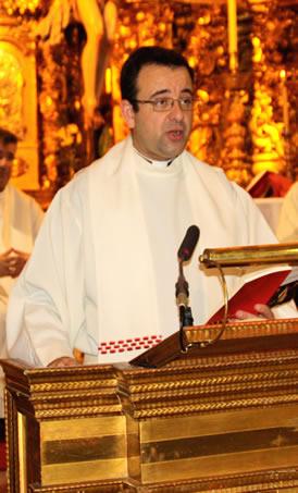 Padre David Gutiérrez, Delegado Episcopal de Patrimonio en Cádiz y Ceuta