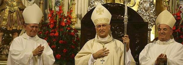 Toma de posesión de Monseñor Zornoza en Cádiz
