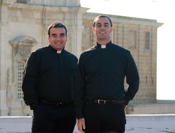 Juan José Galvín (izquierda) y Jesús García (derecha) serán ordenados presbíteros