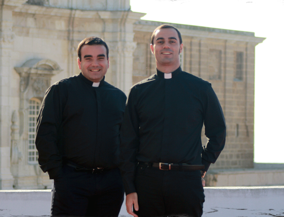 Juan José Galvín (izquierda) y Jesús García (derecha)
