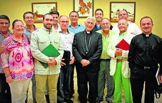 Imagen de los asistentes linenses al encuentro diocesano el pasado martes. Foto: Europa Sur