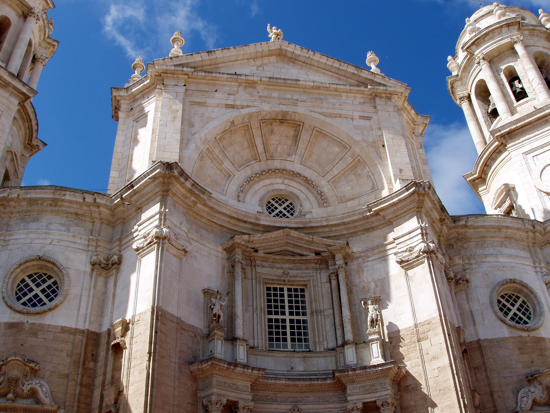 Fachada exterior, Catedral de Cádiz
