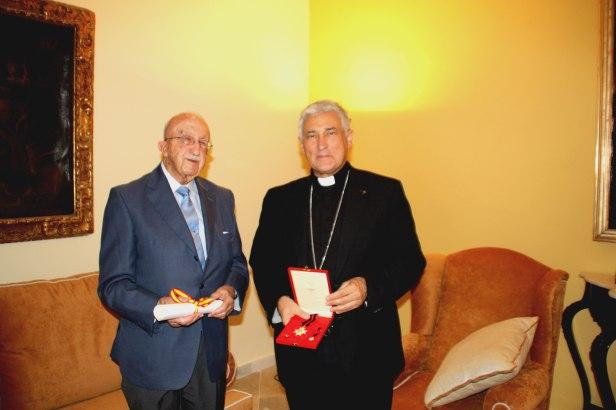 Francisco Arenas y Mons. Zornoza