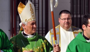 Rafael Zornoza Boy, obispo de Cádiz y Ceuta. Foto: www.elcastillodesanferando.es