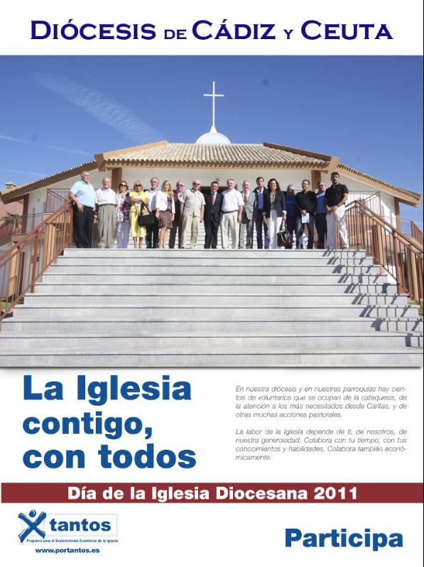 Cartel del Día de la Iglesia Diocesana del pasado año.