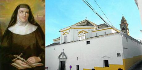 El Monasterio de Jesús, María y José de Medina, donde recaló Sor María de los Dolores en 1818.