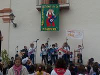 Encuentro y Festival de la Canción Msionera del 2010, celebrado en la Estación de Jimena (Cádiz)