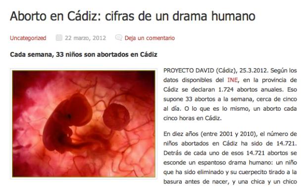 "Web: ""Proyecto David"""