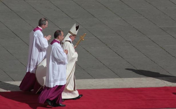 Misa inicio pontificado Papa Francisco. Autor foto: Aurelio Báscones para obispado Cádiz y Ceuta