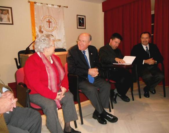 Visita presidente ACdP, Carlos Romero, a Cádiz