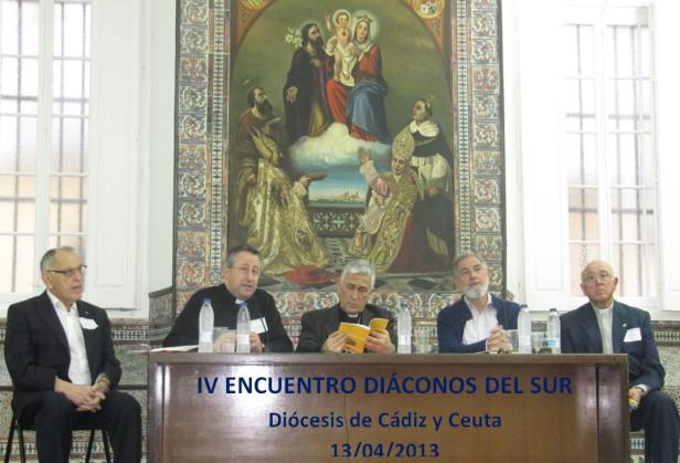 IV ENCUENTRO DIACONOS DEL SUR 13-04-2013
