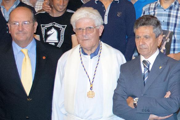 El padre Marcelino fue también capellán del Cádiz CF