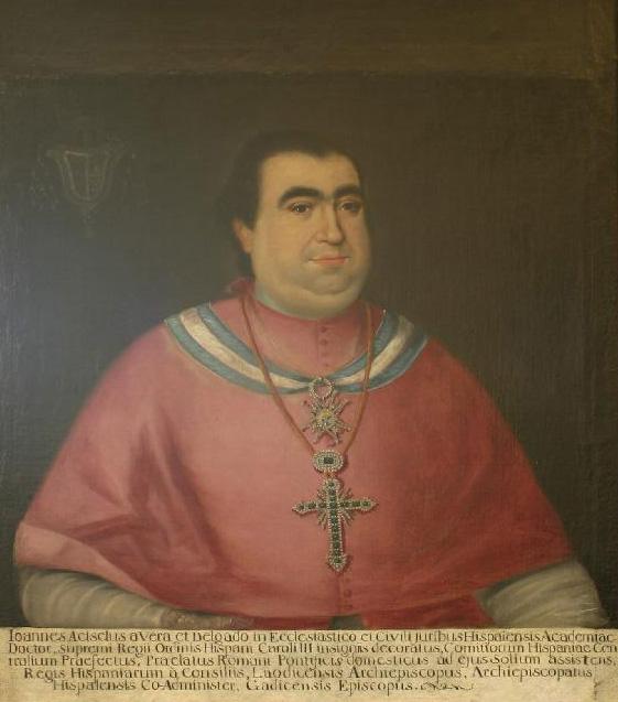 Juan Acisclo Vera Delgado, obispo de Cádiz