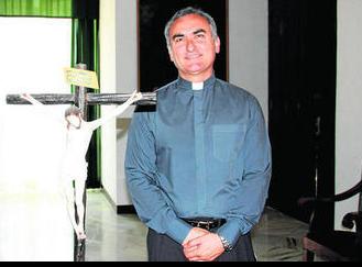 El nuevo vicario general, Fernando Campos, que unirá su labor a la de vicario de Pastoral que ya desempeñaba. Foto: Diario de Cádiz