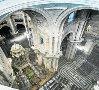 El Plan Director de la Catedral realizado Juan José Jiménez Mata establece que se necesitan 16 millones de euros para ejecutar todas las obras.