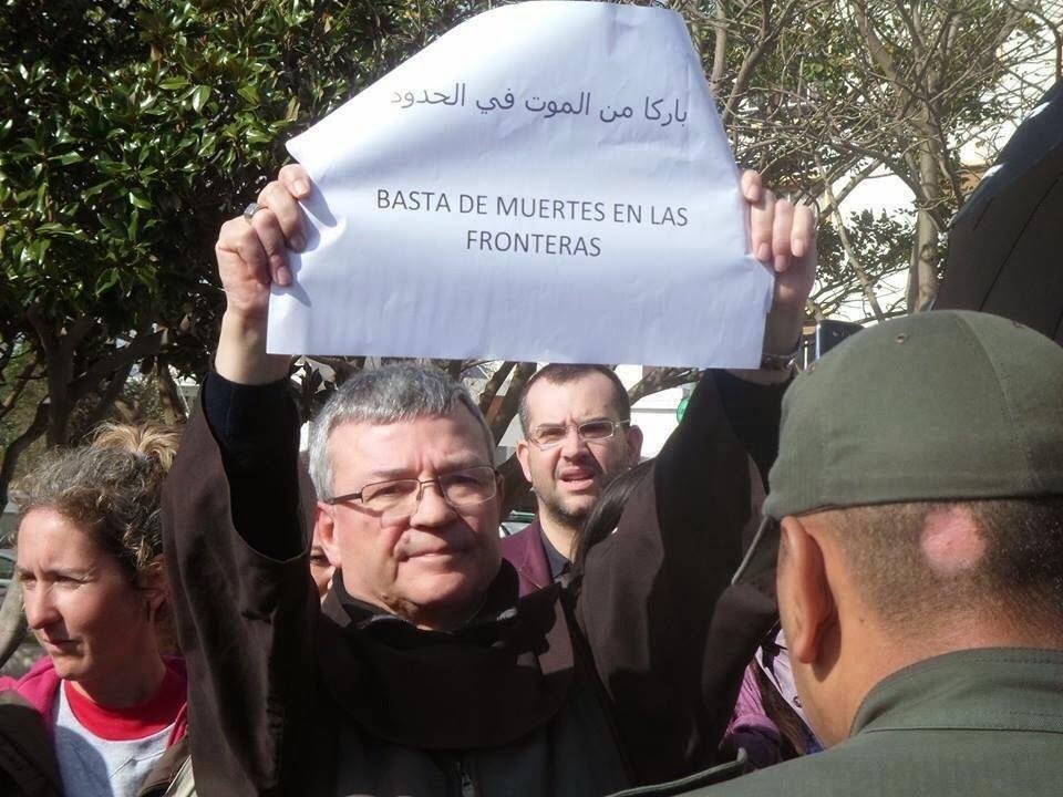 Don Santiago Agrelo, arzobispo de Tánger.