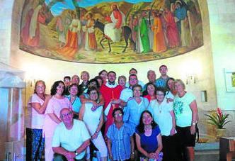 Foto del grupo de puertorrealeños participantes en el viaje. Foto: Diario de Cádiz