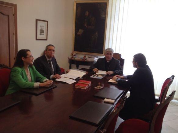La Fudación Educatio Servanda con D. Rafael Zornoza en Cádiz