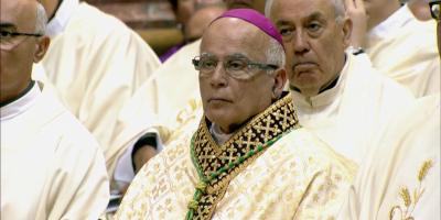 Consagración del nuevo obispo de Gibraltar, Carmelo Zammit en la catedral de San Pablo de Malta