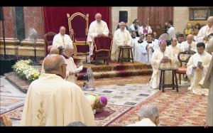 Consagración del nuevo obispo de Gibraltar, Monseñor Carmelo Zammit, en la catedral de Malta